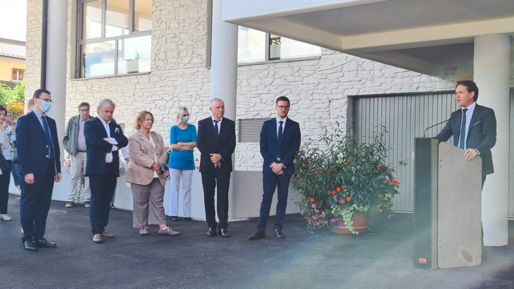 Inauguration de l'extension de l'EHPAD de Masevaux
